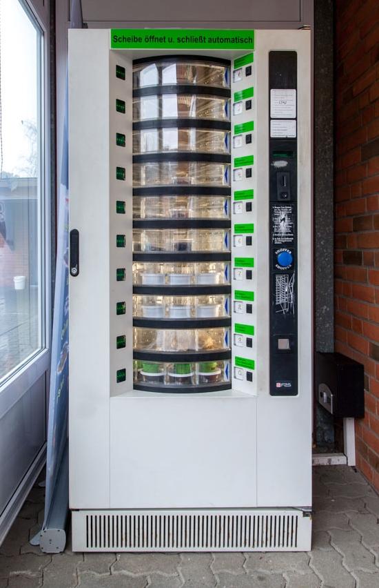 Köderautomat Ds Angelsport Center Flensburg