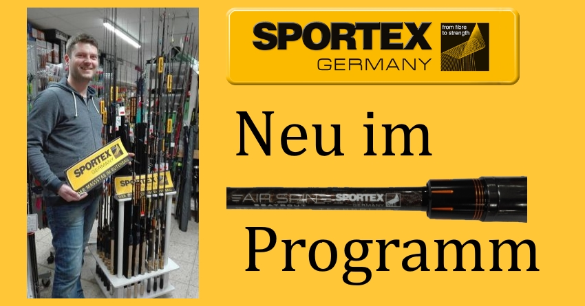 Sportex Ruten – Neu im Sortiment