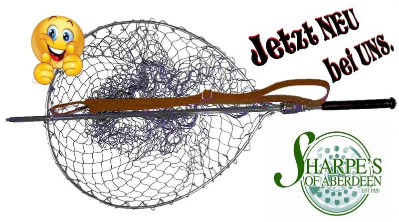 Lachskescher – Meerforellenkescher von Sharpe´s
